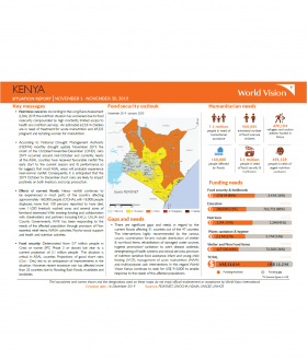 Kenya - November 2019 Situation Report
