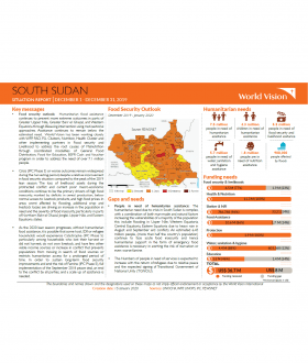 South Sudan - December 2019 Situation Report