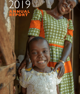 VisionFund annual report cover