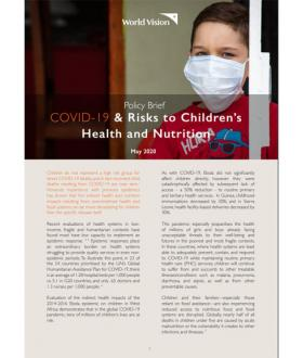COVID-19 Policy brief cover image