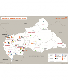 Mapping of World Vision's Interventions in CAR