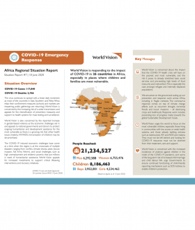 COVID-19 Africa Emergency Response Situation Report #7