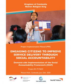 Engaging Citizens to Improve Service Delivery Through Social Accountablity