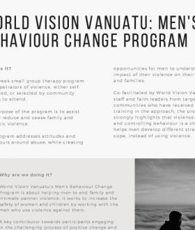 Men's Behaviour Change Program
