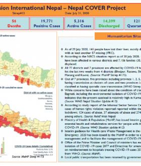 Nepal COVER Project SitRep 13