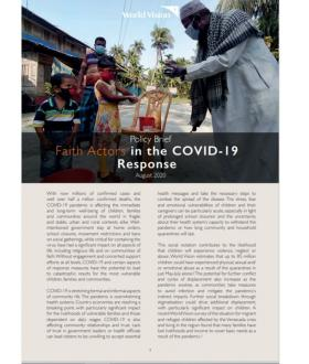 Faith Actors in the COVID-19 Response