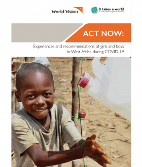 ACT NOW - Children's Consultation Report - World Vision | 2020