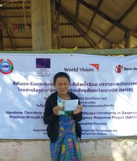 WV Laos l Situation Report on COVID-19 and Flood Responses