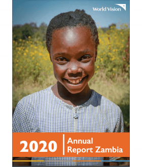 cover of annual report zambia