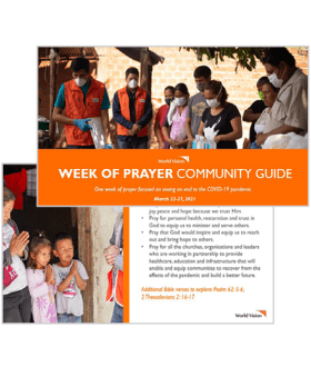 Community Prayer Guide