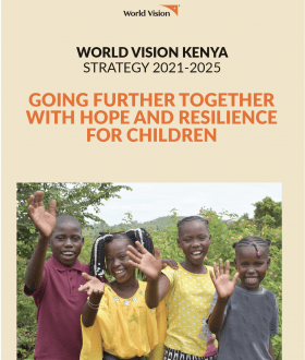 World Vision Kenya Strategy (2021-2025) - Cover Page
