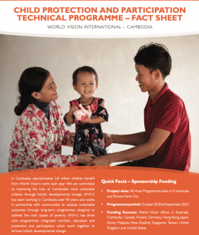 Child Protection and Participation Technical Programme Factsheet