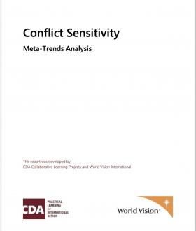 Conflict Sensitivity Meta-Trends Paper by Nicole Goddard and Dilshan Annaraj