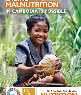 Ending Malnutrition in Cambodia is Possible Cover Page