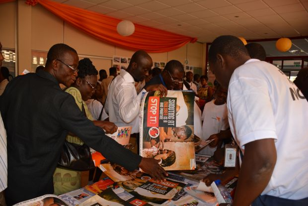 Exhibition Stand Staff Training : Photo gallery of fy annual report and strategy launch