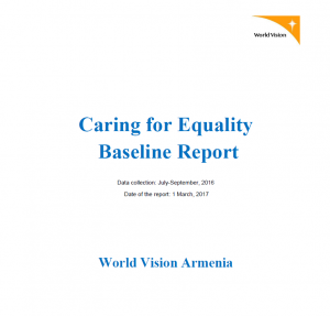 caring for equality project baseline evaluation report 2016 - World Vision Organizational Structure
