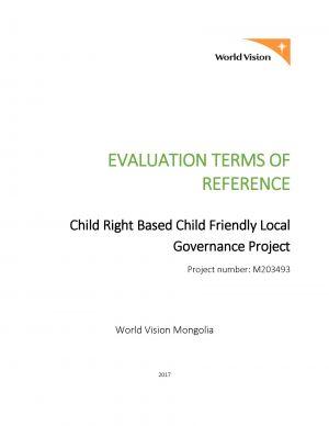publication - World Vision Organizational Structure