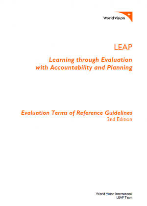 Leap v2 evaluation tor guidelines and template world vision share this publication pronofoot35fo Images