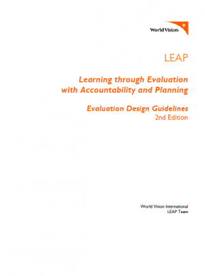 Leap v2 evaluation design guidelines and template world vision share this publication pronofoot35fo Image collections
