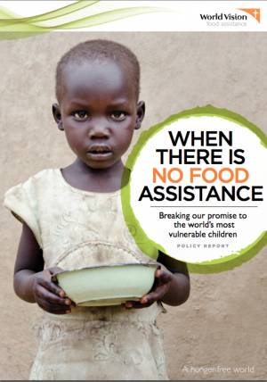 when there is no food assistance   world vision international
