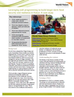 care kenya case study