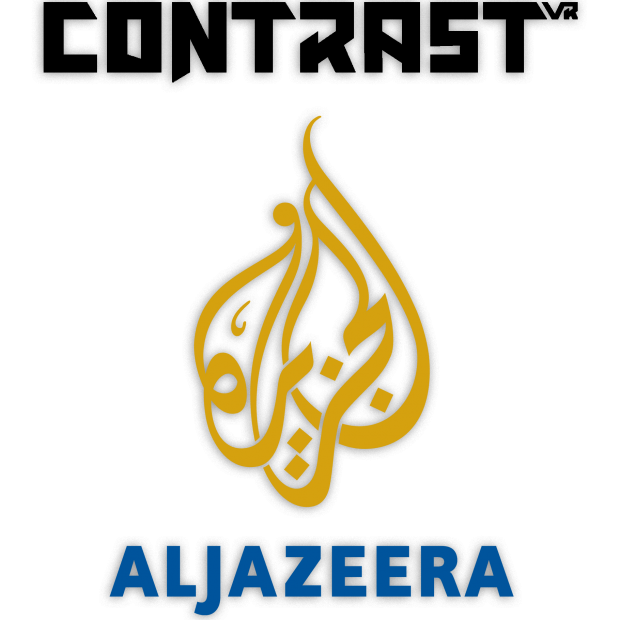 Contrast VR and Aljazeera logo