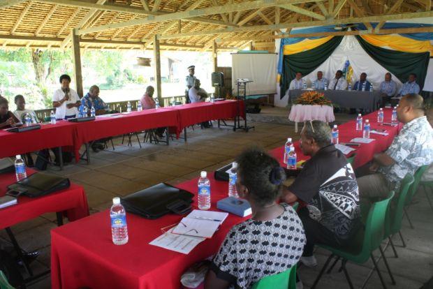 Rose Anilafa contributes to the Solomon Islands Church Leaders Conference.