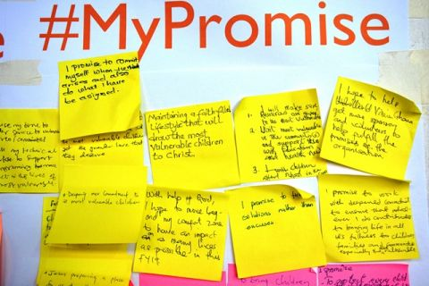 "Some promises from staff on how to achieve ""Our Promise 2030"""