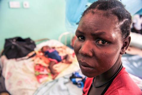 Scholastica's mom - Nancy - is worried about her daughter's health as her 2-year-old struggles to stay alive.
