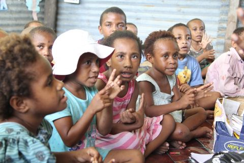 PNG early child-hood learning