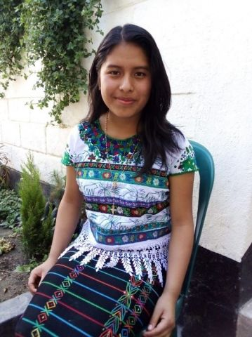 Ana who participates in the Puentes Project in Guatemala