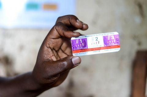 3-day treatment for malaria