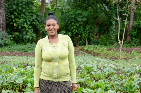 21-year-old Workalem, a mother of one