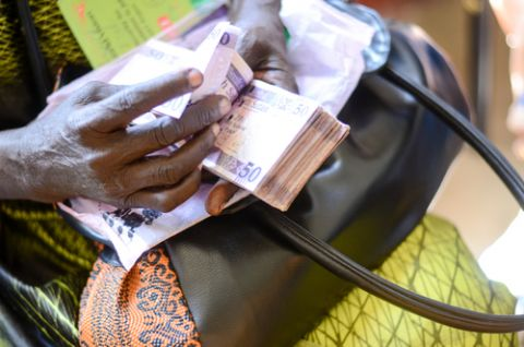 Cash programme in Juba, South Sudan