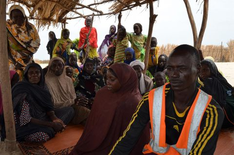 Survivors of Boko Haram captors swear never to return to their homes as long as the group still exists.