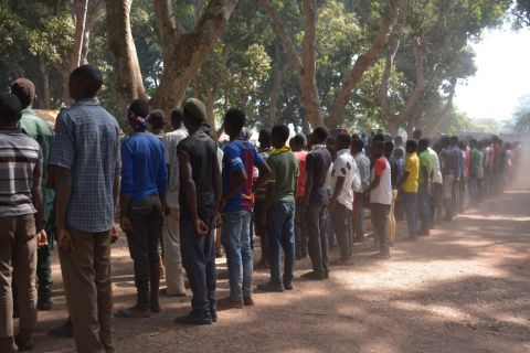 Release of children associated with armed groups