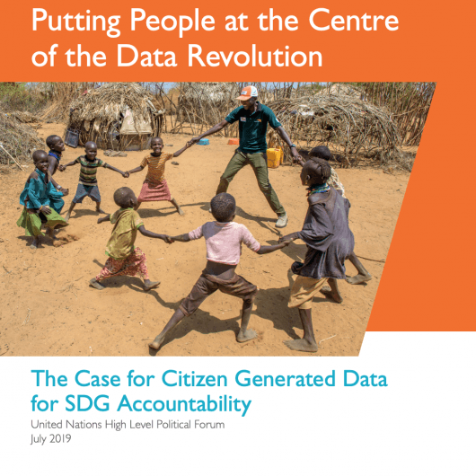 The Case for Citizen Generated Data for SDG Accountability cover