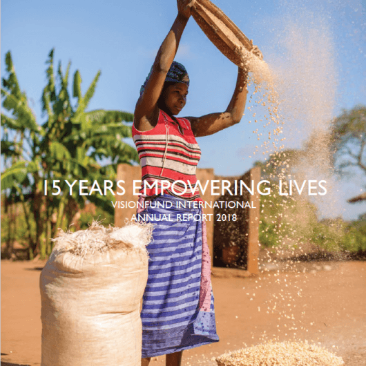 VisionFund Annual Report 2018 Cover