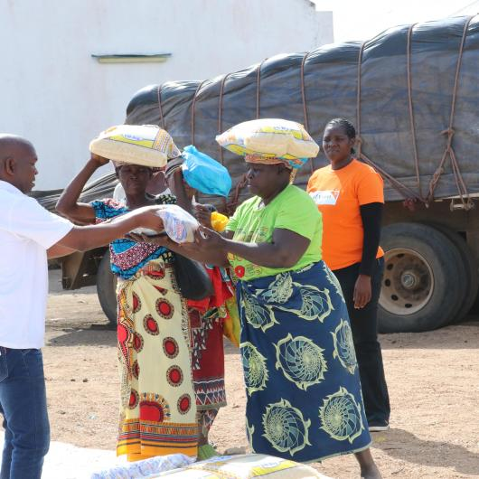 Beneficiaries receiving provisions