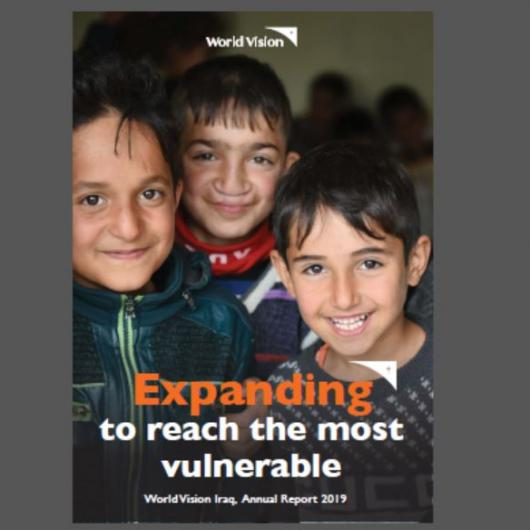 World Vision Iraq Annual Report 2019 Cover