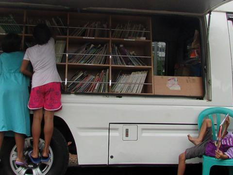 Mobile Library as Children's Best Friend | World Vision