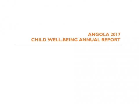 2017 Child Well-being Report Angola