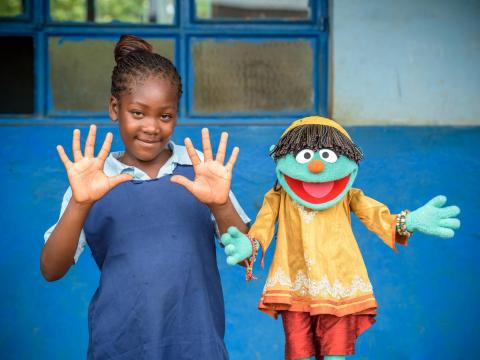 World Vision Sesame Workshop partnership