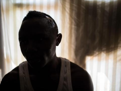"""I was kidnapped a year ago by Mai Mai rebels.  We fought 3 battles against the Congolese Army. In the last one I got injured and captured ."" Deo, 18, Congo"