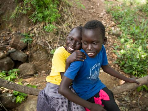 Doruka and Serjarina in South Sudan