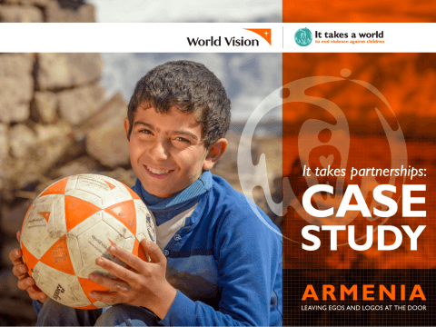 It takes partnerships Case Study – Armenia: Leaving Egos and Logos at the Door