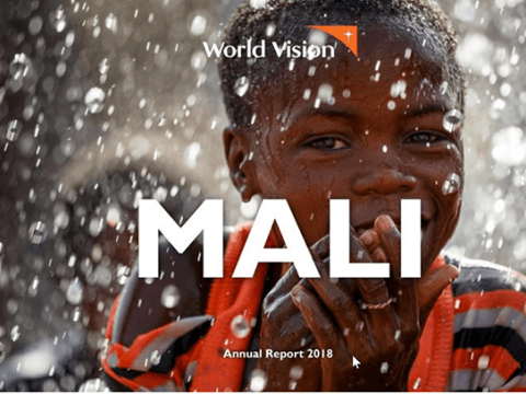 World Vision Mali 2018 Annual Report Cover
