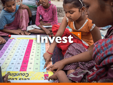 It takes investment: financing the end of violence against children