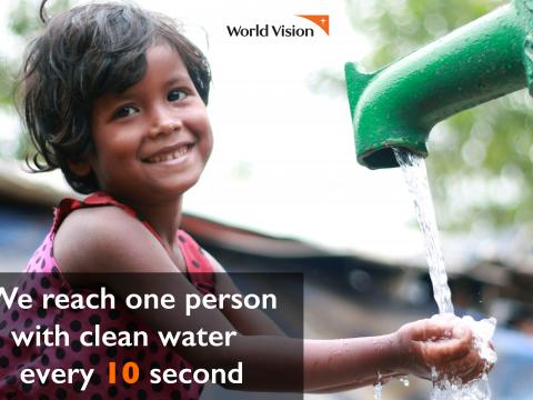 Providing safe drinking water to refugees from Myanmar