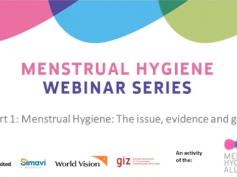 5 part series on menstrual hygiene